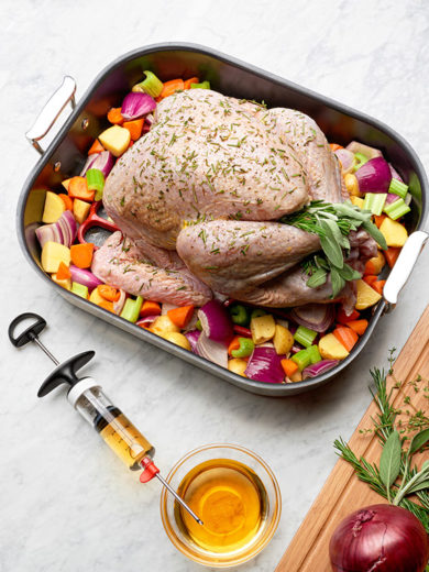 Take Your Thanksgiving Turkey to the Next Level with These Flavor Injector Recipes