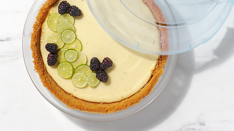 graham cracker crust with food mill