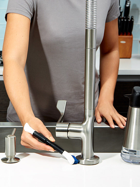 What is the Best Way to Clean a Kitchen Sink? - OXO Good Tips