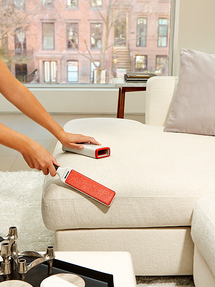 living room cleaning tips: furlifter