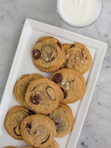 Dan Kluger's Salted Chocolate Chip Cookies Hit the Spot