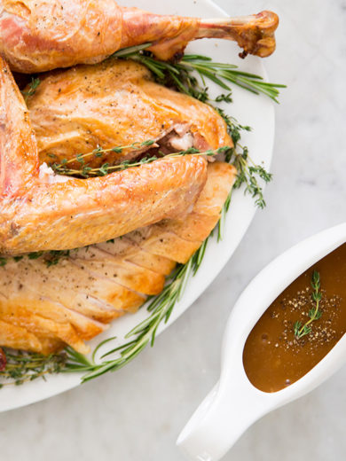 How to Make Turkey Gravy Using a Fat Separator