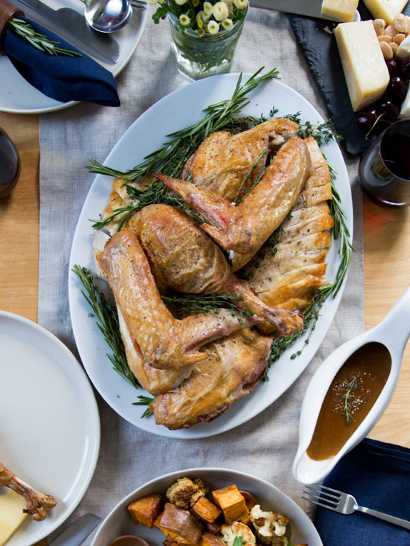 How To Brine and Roast a Thanksgiving Turkey