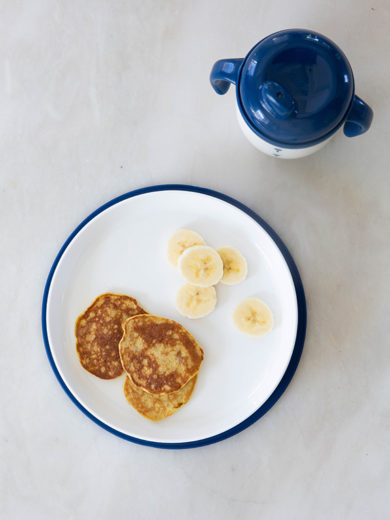 Two-Ingredient Banana Pancakes for Baby (and You) from Jenna Helwig