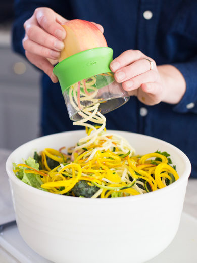 Behind the Design: OXO Hand-Held Spiralizer