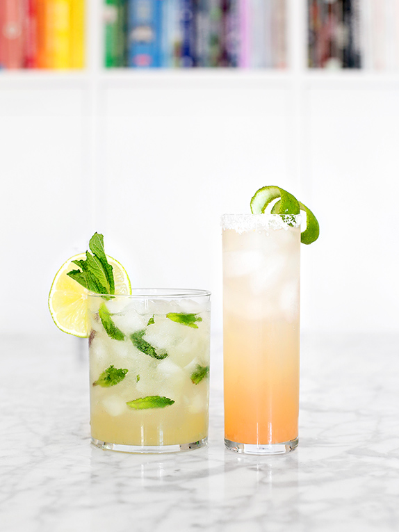 Simple Citrus Summer Cocktails with the Faux Martha