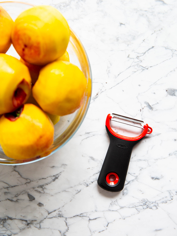 How to Use Your Serrated Peeler, From Peach Pie to Peeling Tomatoes