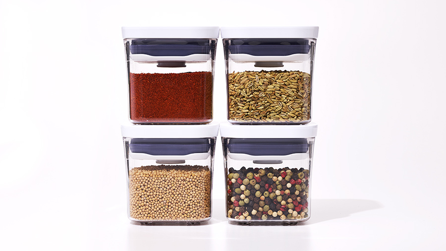 Spices in POP Containers