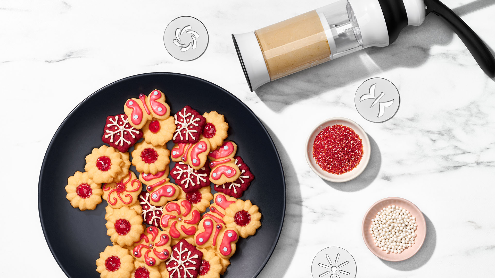how to make cookies with a cookie press