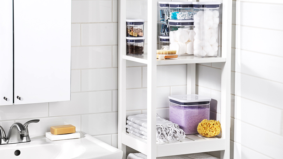 POP Containers for Bathroom