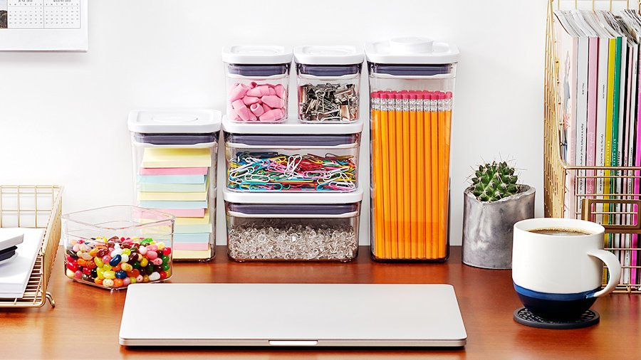 OXO POP Containers Desk Supplies