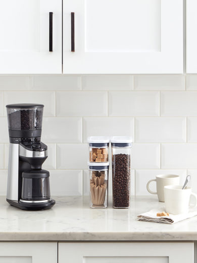 How to Use: OXO Brew Conical Burr Coffee Grinder with Scale