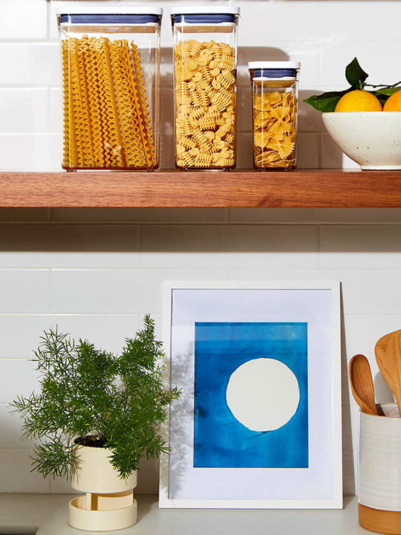 7 Organizing Ideas if You Don't Have a Pantry in Your Kitchen