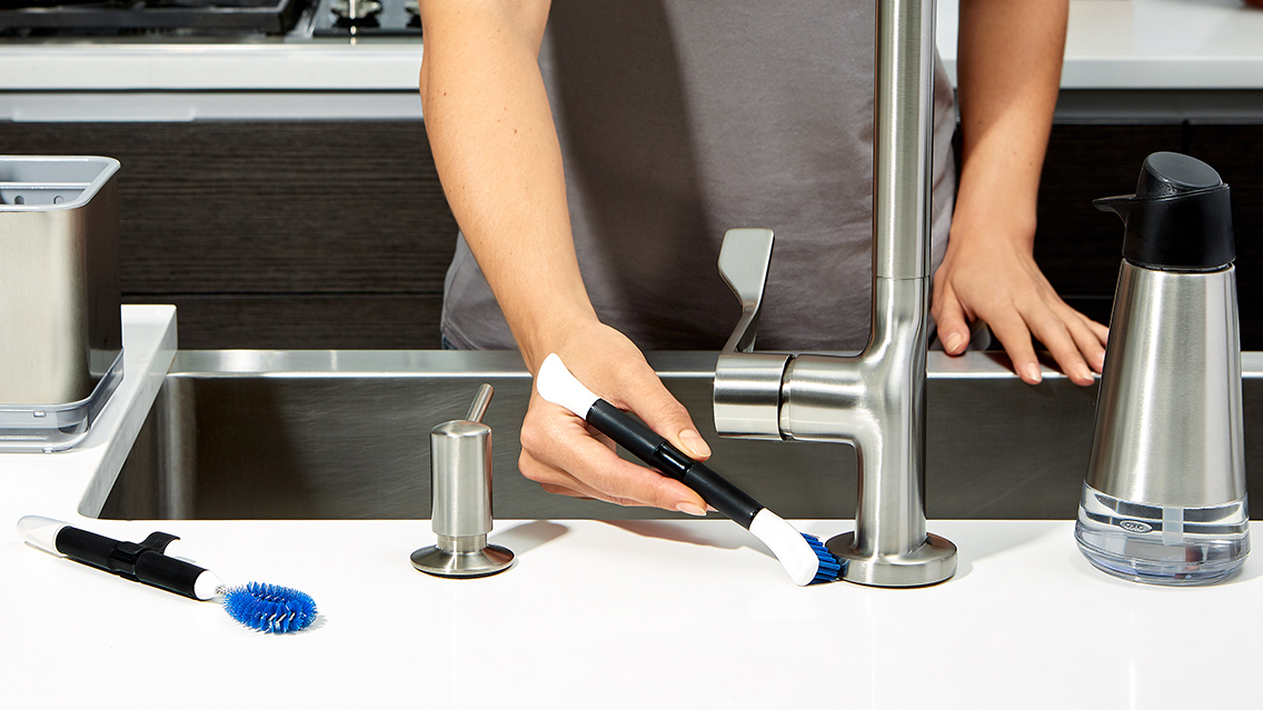 Polishing Chrome Faucet