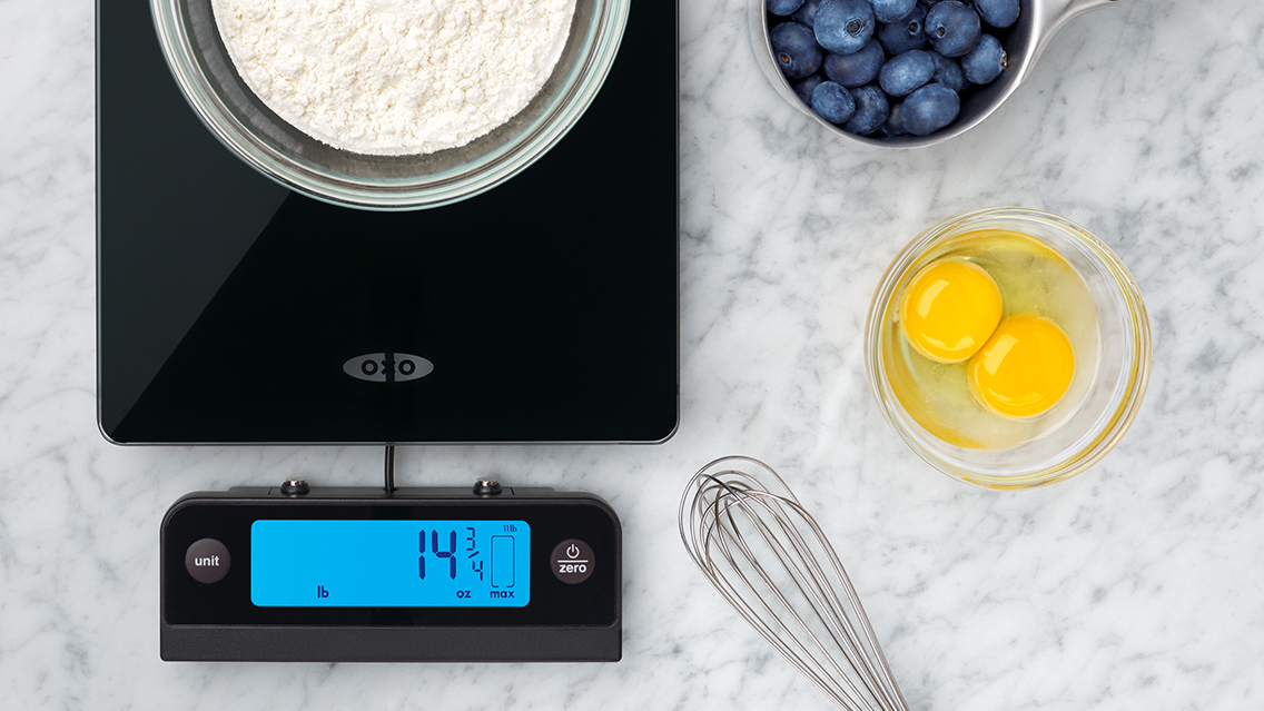 baking with scale