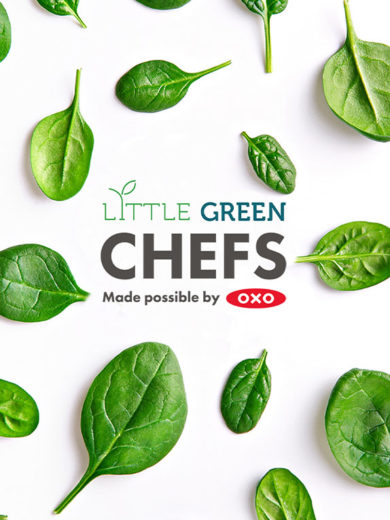 Introducing Little Green Chefs made possible by OXO