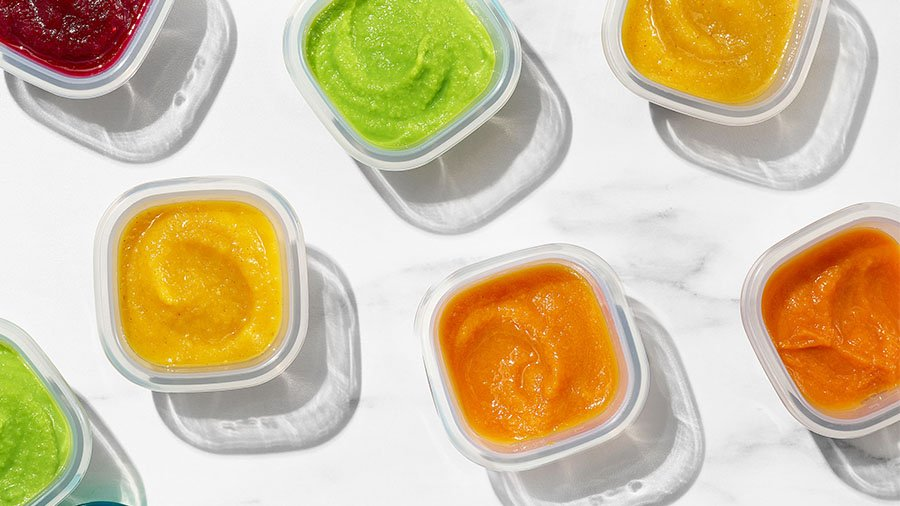 baby food for summer