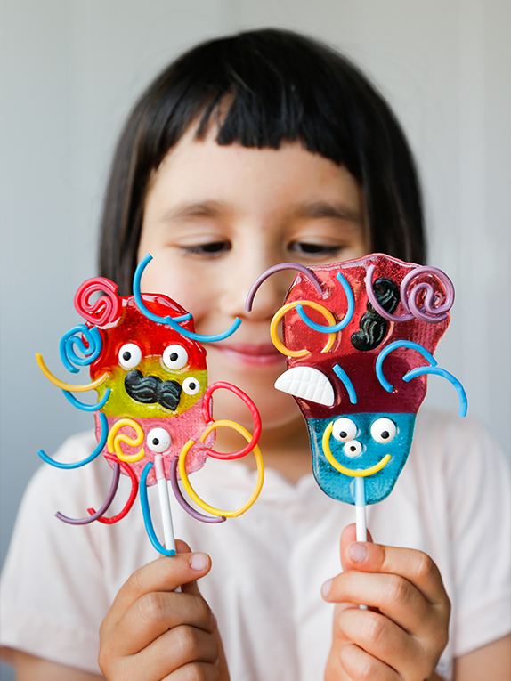 OXO Kids Cooking School: How to Make Blobby Beast Lollipops