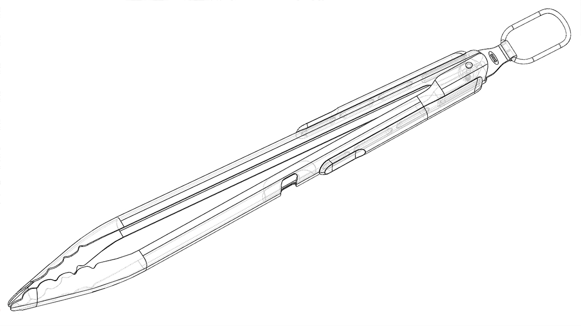 grill tongs design