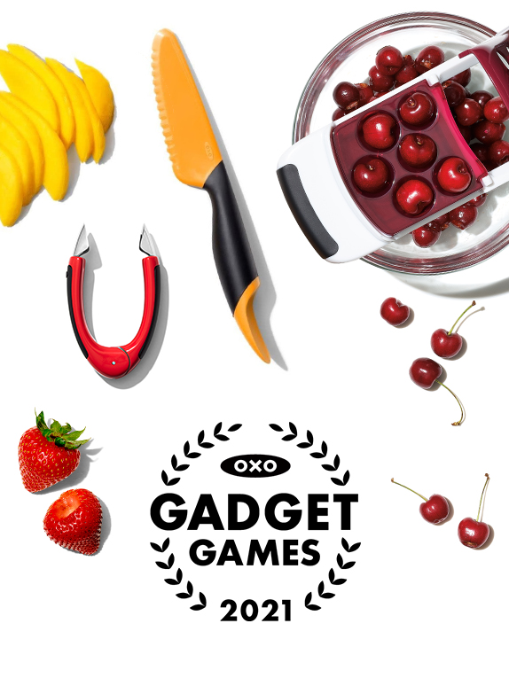 OXO Gadget Games: A Produce Prepping Competition