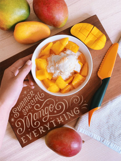 Cool Off with Taiwanese Mango Shaved Ice from Ann Chen