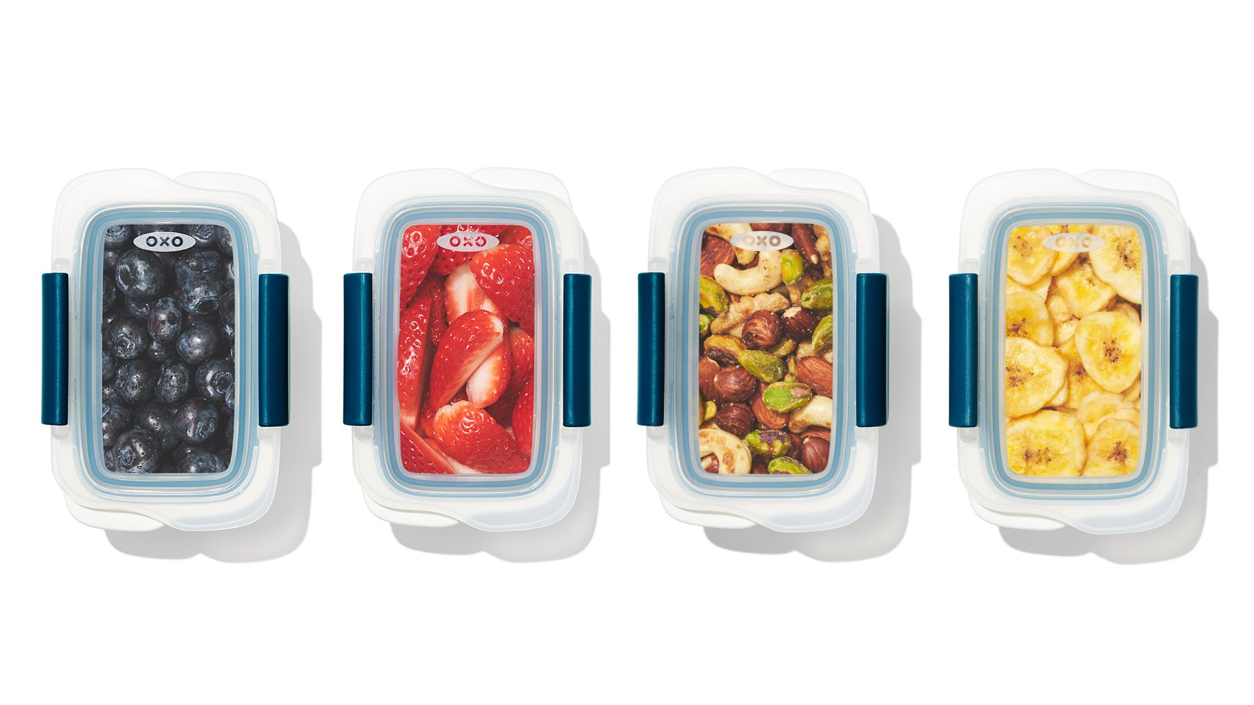 hiking snacks in snack containers