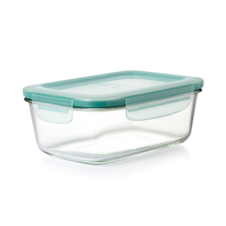 OXO Good Grips 8 Cup Smart Seal Glass Rectangle Container