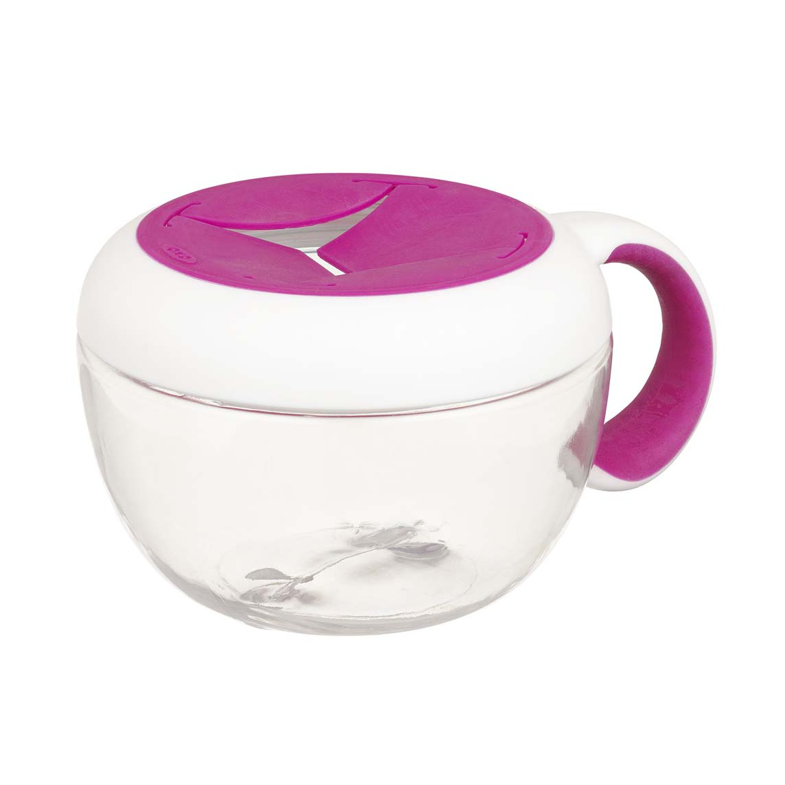 OXO Tot Flippy™ Snack Cup With Travel Cover - Pink