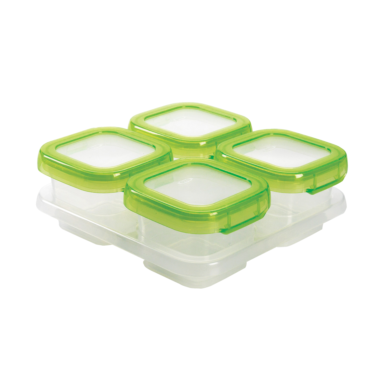 Baby Blocks Freezer Storage Containers 4 Ounce Set OXO