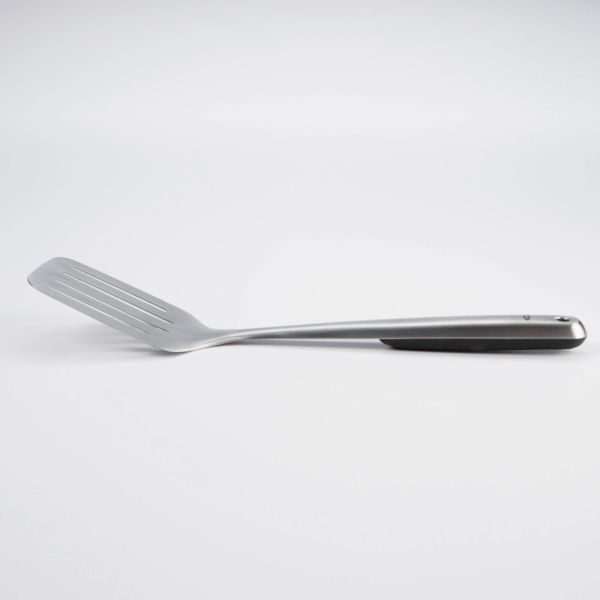 Brushed Stainless Steel Turner