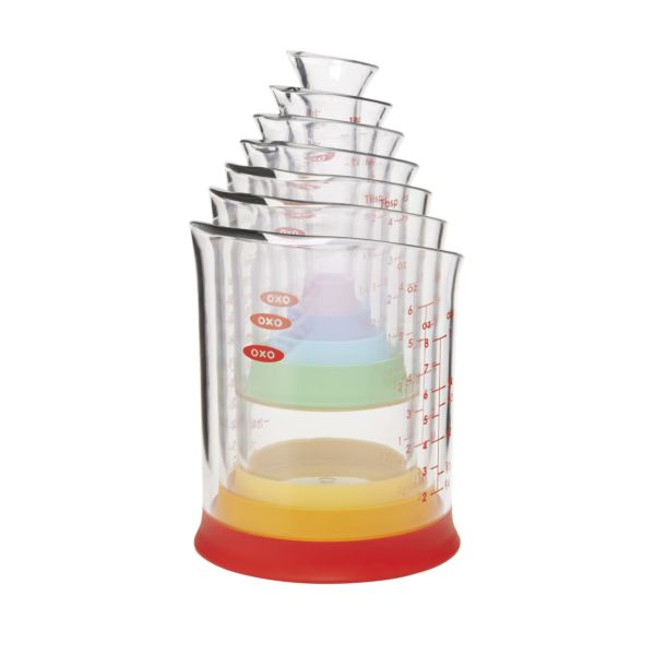 7 Piece Liquid Measuring Beaker Set