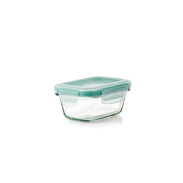 OXO Good Grips 4 oz Smart Seal Glass Rectangle Container