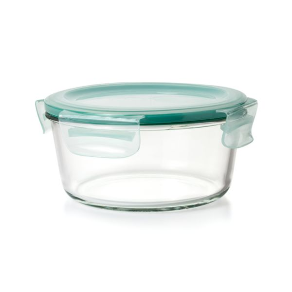 OXO Good Grips 7 Cup Smart Seal Glass Round Container
