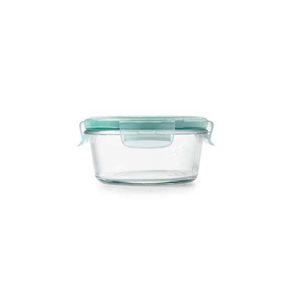 2 Cup Smart Seal Glass Round Container