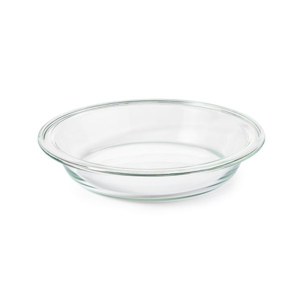 "Glass 9"" Pie Plate"