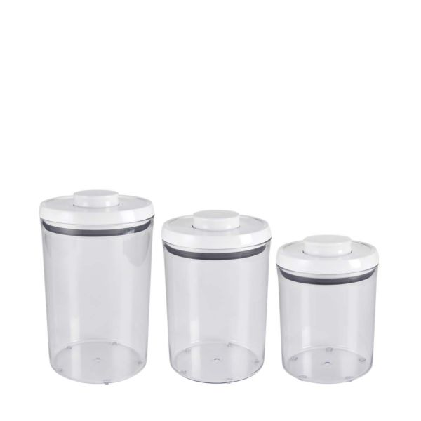 OXO 3-Piece POP Round Canister Set