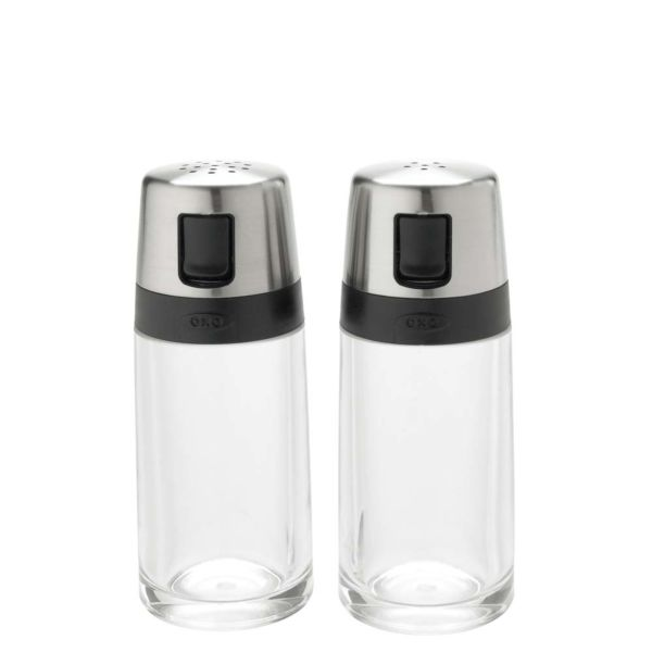 Simple Salt and Pepper Shaker Set
