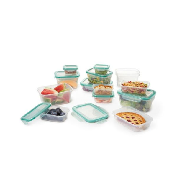 28 Piece Smart Seal Plastic Container Set