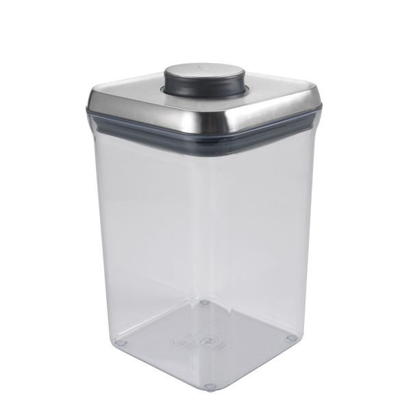 OXO SteeL POP Container-Big Square (4.0 Qt)