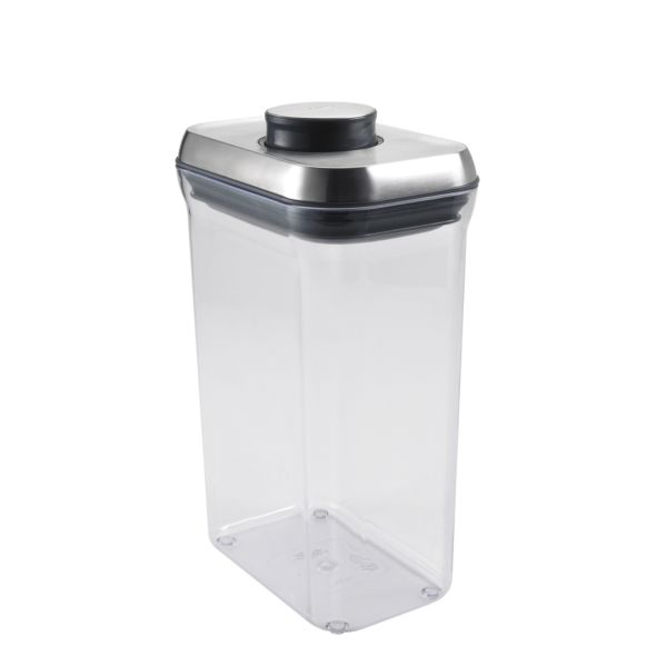 OXO SteeL POP Container - Rectangle (2.5 Qt)