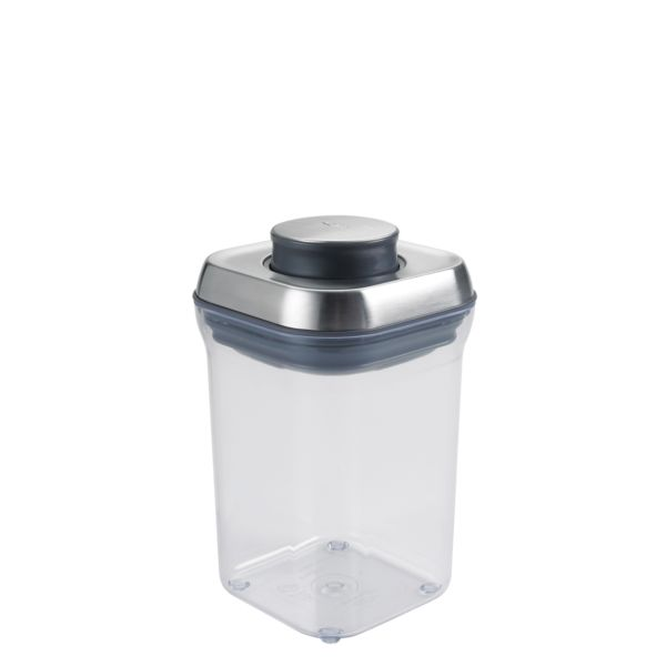 OXO SteeL POP Container - Small Square (0.9 Qt)
