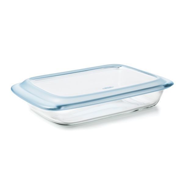 Glass Baking Dish with Lid (3.0 Qt)