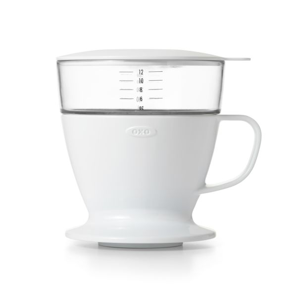 Pour-Over Coffee Maker with Water Tank
