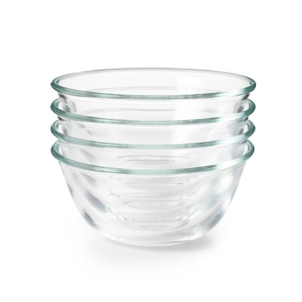 OXO Good Grips 4 Piece Glass Prep Bowl