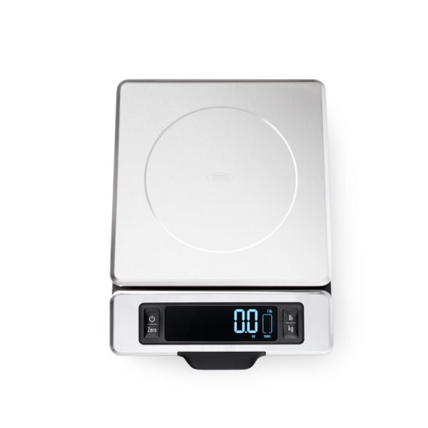 11 lb Stainless Steel Food Scale with Pull out Display