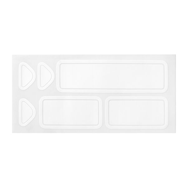 OXO POP Removable Labels sheet