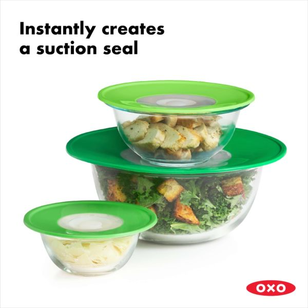 OXO Good Grips 3 Piece Reusable Lid Set