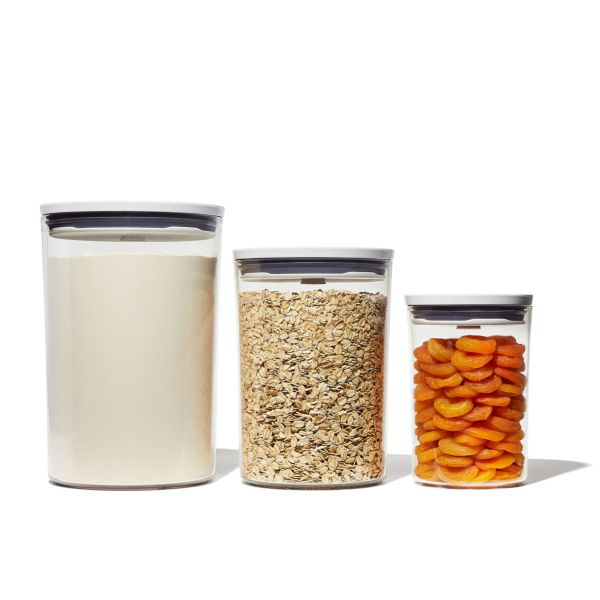 3-Piece POP Round Canister Graduated Set
