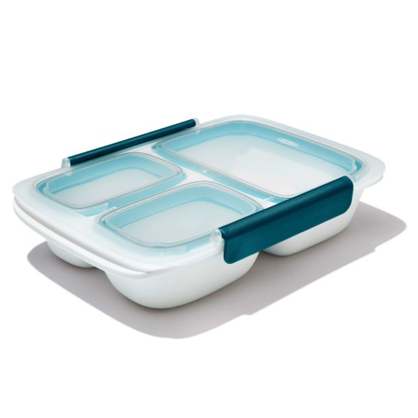 Prep & Go 4.1-Cup Divided Container