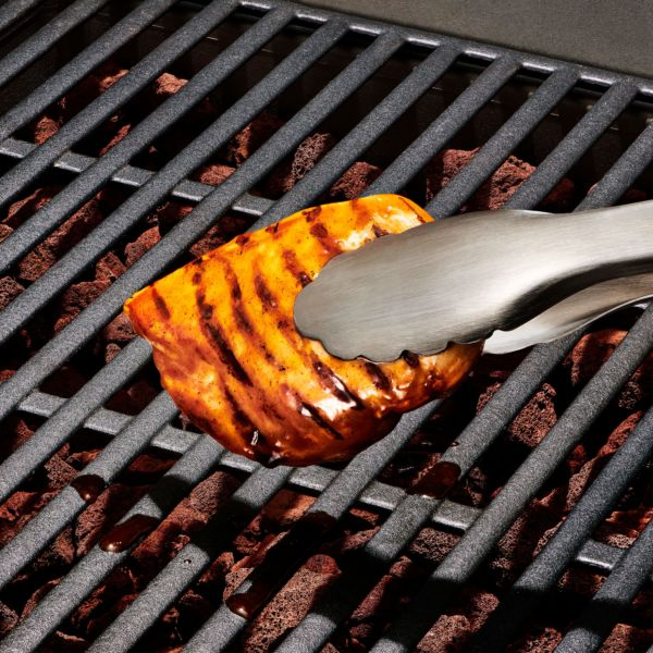 Grilling Tongs with Built-In Bottle Opener
